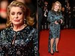 Catherine Deneuve walks the red carpet at the 2014 International Cannes Film Festival. Pictures: Getty