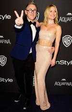 Actors Alan Cumming (L) and Kate Hudson attend InStyle and Warner Bros. 73rd Annual Golden Globe Awards Post-Party at The Beverly Hilton Hotel on January 10, 2016 in Beverly Hills, California. (Photo by Frazer Harrison/Getty Images)