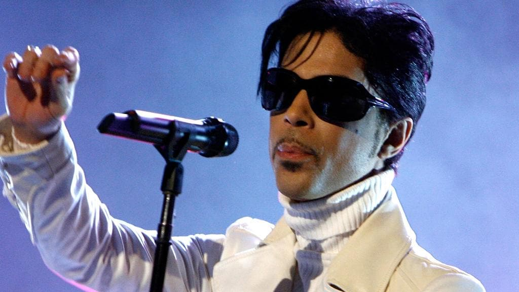 Singer Prince died in April last year. Picture: Getty