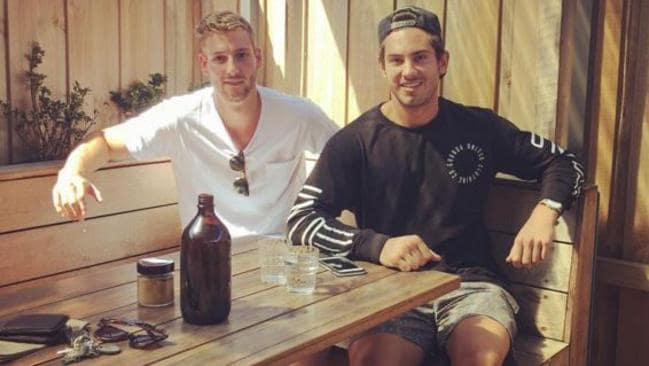 Swan Alex Johnson with Cat Daniel Menzel in 2016.