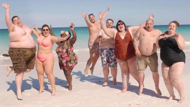 Bahamas resort for plus-size tourists in photos