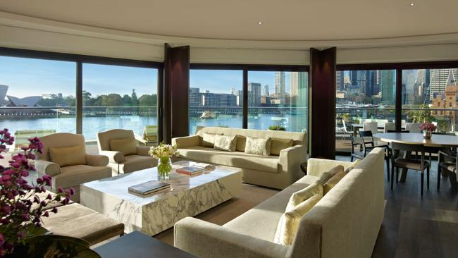 The Park Hyatt?s Sydney Suite has been home for Rihanna, Elton John and the Rolling Stones.