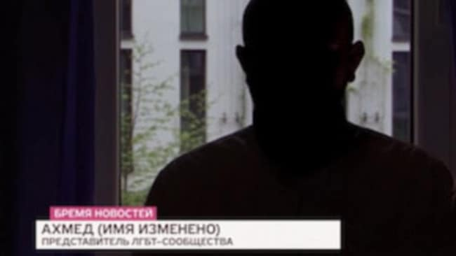 A former inmate at a Chechen gay concentration camp speaks on German TV.