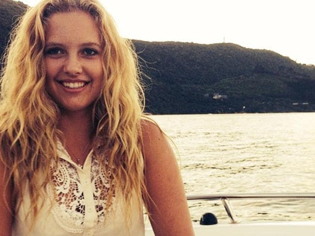 Marli van Breda survived the axe attack on her family but has no memory of the horrific events. Picture: Facebook