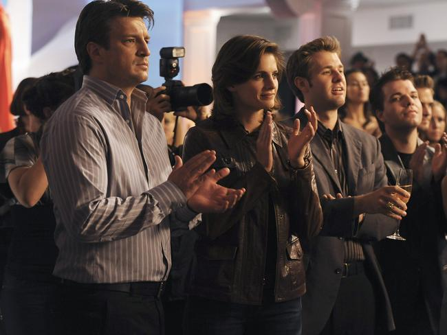 Fillion was reportedly upset at the amount of screentime Katic has received on the show. Picture: Supplied
