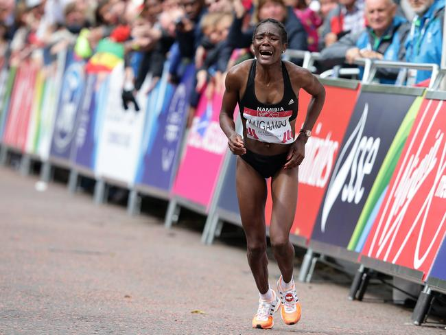 Namibian Athlete Beata Naigambo. Photo: Adam Head