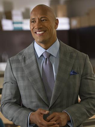 Dwayne Johnson as Spencer Strasmore in Ballers.