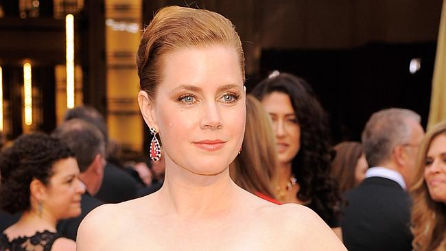 Amy Adams hits the Oscars red carpet.