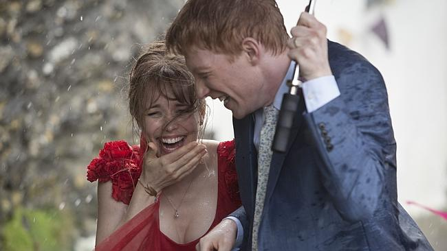 Rachel McAdams and Domhnall Gleeson star in new rom-com 'About Time'.