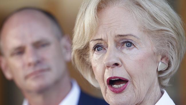 Dame Quentin Bryce says she feel obligated to act against domestic violence after visiting women's shelters.