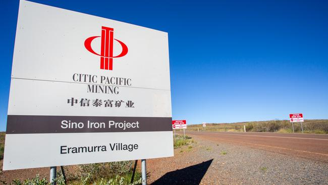 Citic Pacific Mining, Sino Iron Project. Eramurra Village