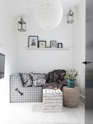 Scandi simplicity: Workers can chill-out in a Swedish inspired sitting room. Picture: James Horan