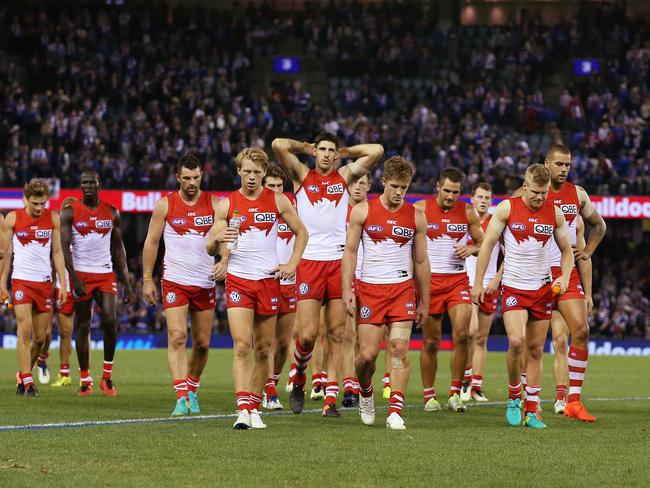 The Swans were in an undeniable state of chaos before round seven.