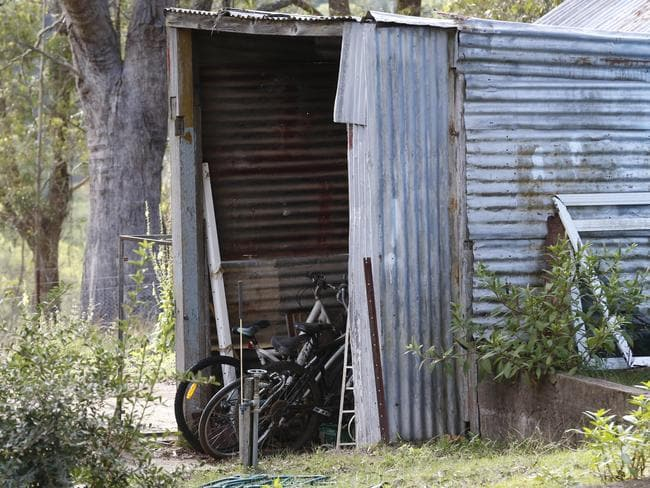 The house and property Katoomba where accused brother and sister Therese and Paul Cook lived before their arrest on child abuse charges. Picture: David Swift.