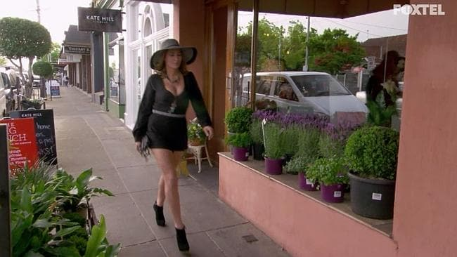 Andrea heads to the open audition for Absolutely Fabulous: The Movie.