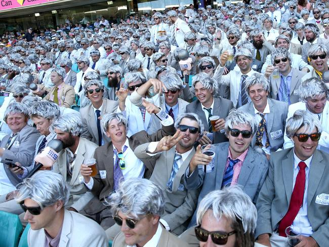The Richies at the SCG. Photo by Damian Shaw