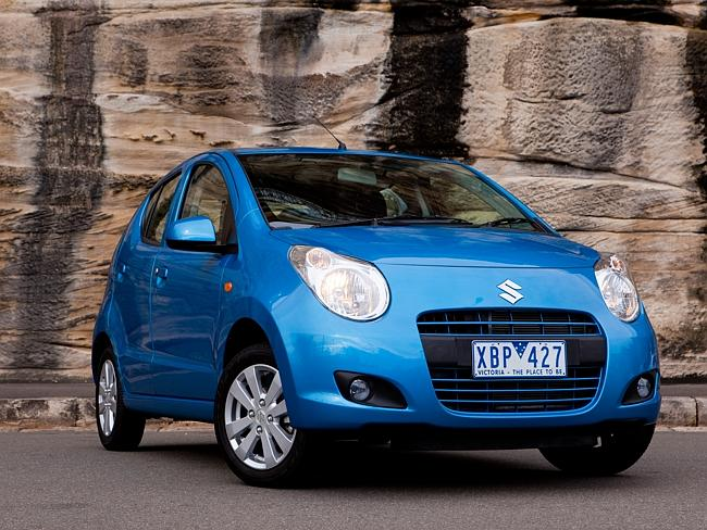 One of the cheapest cars on sale in Australia ... a 2014 Suzuki Alto.