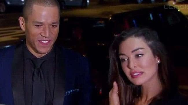 'Don't make me eat a dirty street pie': Laurina and Blake on that ill-fated date.