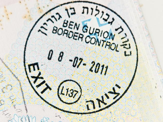 The Israeli border control stamp can land you in big trouble in a number of countries.