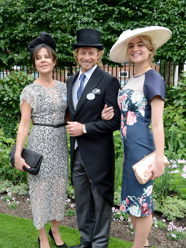 Mentalist star Simon Baker a standout at Royal Ascot as ...