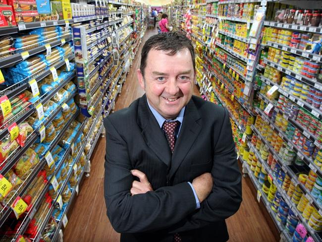 Foodland Supermarkets chief executive officer Russell Markham.