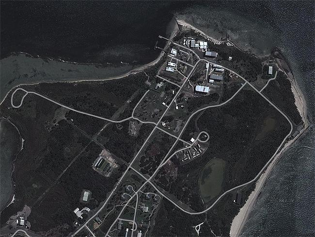 Top Secret sites: SIS and special forces training centre, Swan Island, Victoria. Source: Google Earth