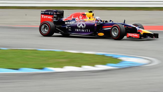 Daniel Ricciardo recovered after a slow start to finish sixth.