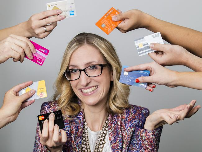Money expert Michelle Hutchison of finder.com.au shares her tips on how to beat the banks. Picture: Justin Lloyd