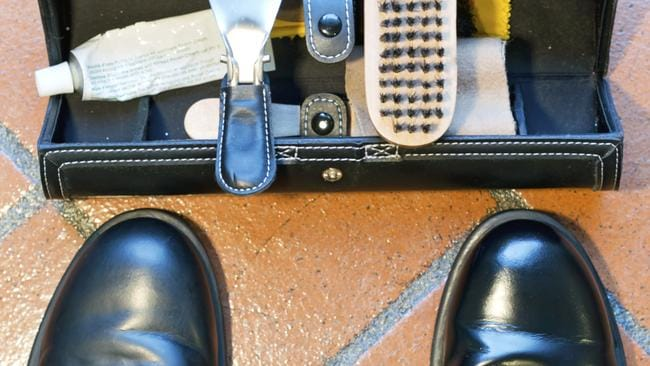 Shiny shoes thanks to a good ol' polish. Picture: Thinkstock