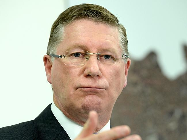 Premier Dennis Napthine has urged residents to follow the health officer's advice. Picture: Herald Sunat