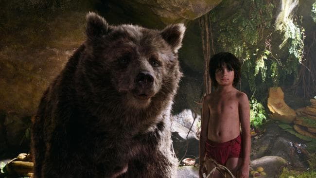 The live-action remake of The Jungle Book was a box office smash. Picture: Disney