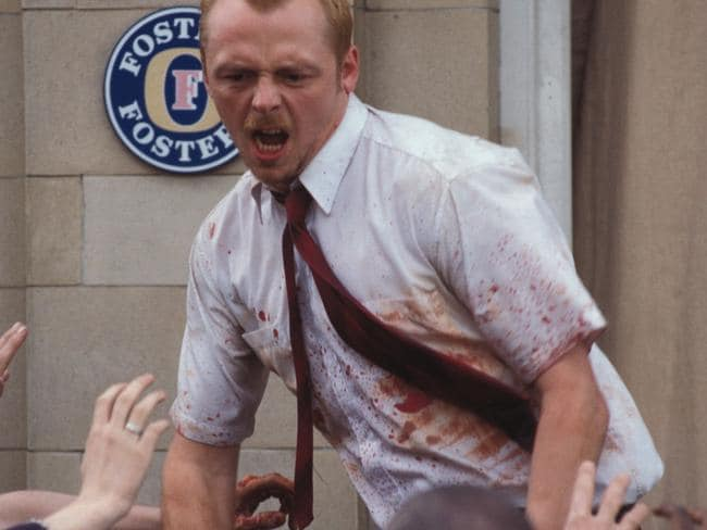 Don't worry, Simon Pegg won't be in charge of saving humanity.