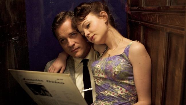 In the film An Education, Carey Mulligan plays a girl whose life changes when she falls in love with a man nearly twice her age.