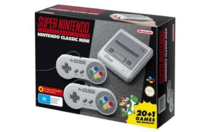 "<b>SUPER NINTENDO CLASSIC MINI SYSTEM, $119 from TARGET (or in close second, $119.95 from EB GAMES).</b>  <p>If you're a gamer of the past, then you're probably itching to introduce your kids to the gaming of the 'good old days'. Well, I am anyway, but I've not been able to find one of these babies at a bargain price. And they keep selling out so fast you don't get the chance to ponder whether they're worth the money or not. OK they are. Must. Go. Buy. One ... for the kids, of course! They come loaded with ""20+1 of your favourite games"" - what IS it with the maths games, toy people?!</p>  <p><i><a href=""https://www.target.com.au/p/super-nintendo-classic-mini-system/60699688"">Credit: Target Australia.</a></i></p>"