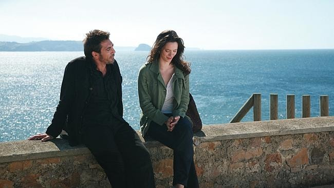 Vicky Cristina Barcelona starring Rebecca Hall and Javier Bardem tells the story of a young American woman on vacation in Barcelona who becomes romantically entagled with a local artist.