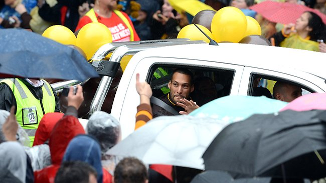 Grand Final parade,Josh Gibson, Picture: Wayne Ludbey