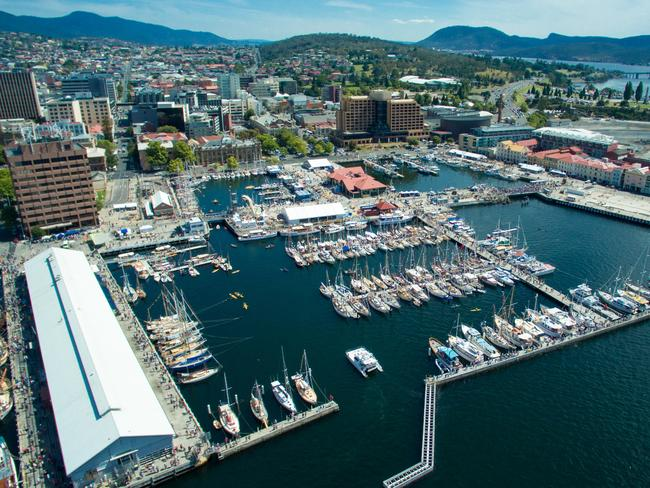 Hobart locals only need to be earning $64,827 to pay off the average house. Picture: Kyle Gardner