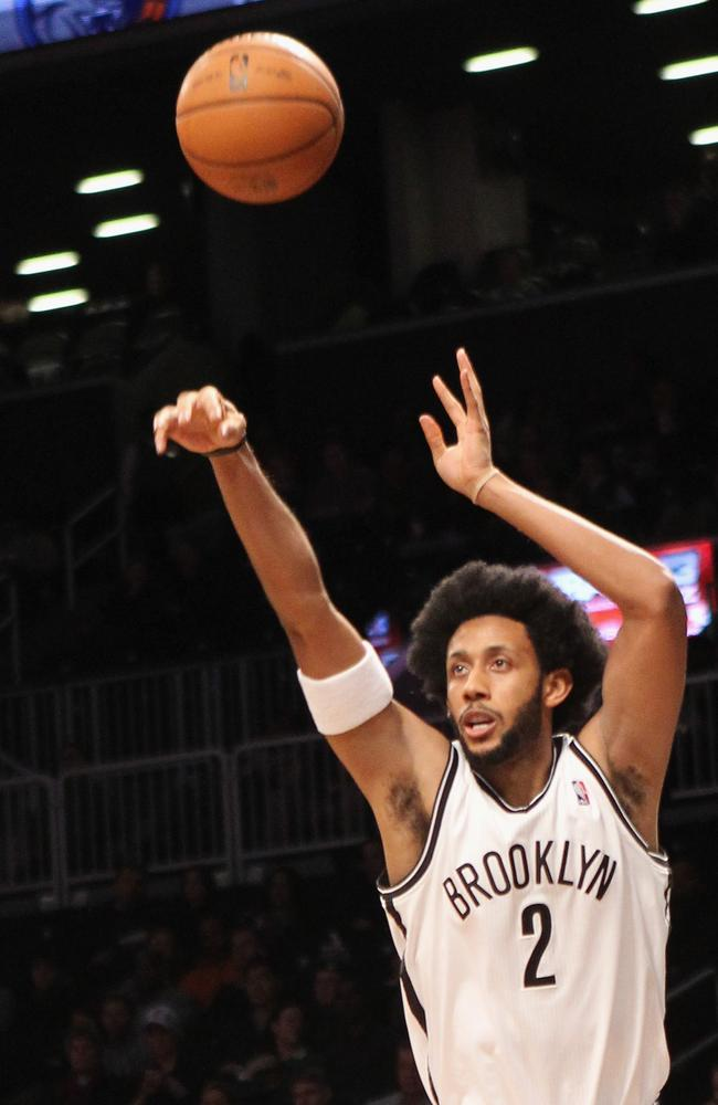 Childress in action for the Brooklyn Nets.