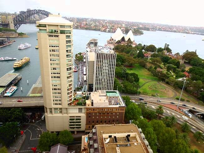 Australia suite at the Intercontinental Sydney