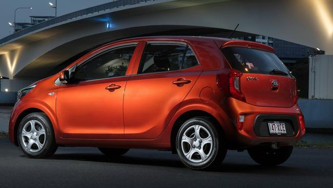 Ideal city car: Kia's Picanto. Picture: Supplied