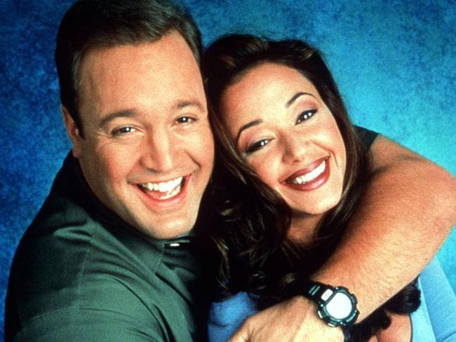 James' reunited with his original TV wife, Leah Remini, when she was drafted into Kevin Can Wait.