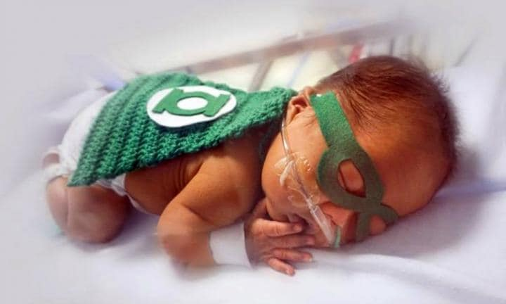 Doctors knit superhero suits for premmies to celebrate how hard these babies fight