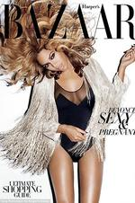 The thighs have it: Beyonc Knowles' upper legs seem on the over-airbrushed side on the cover of U.S. Harper's Bazaar.