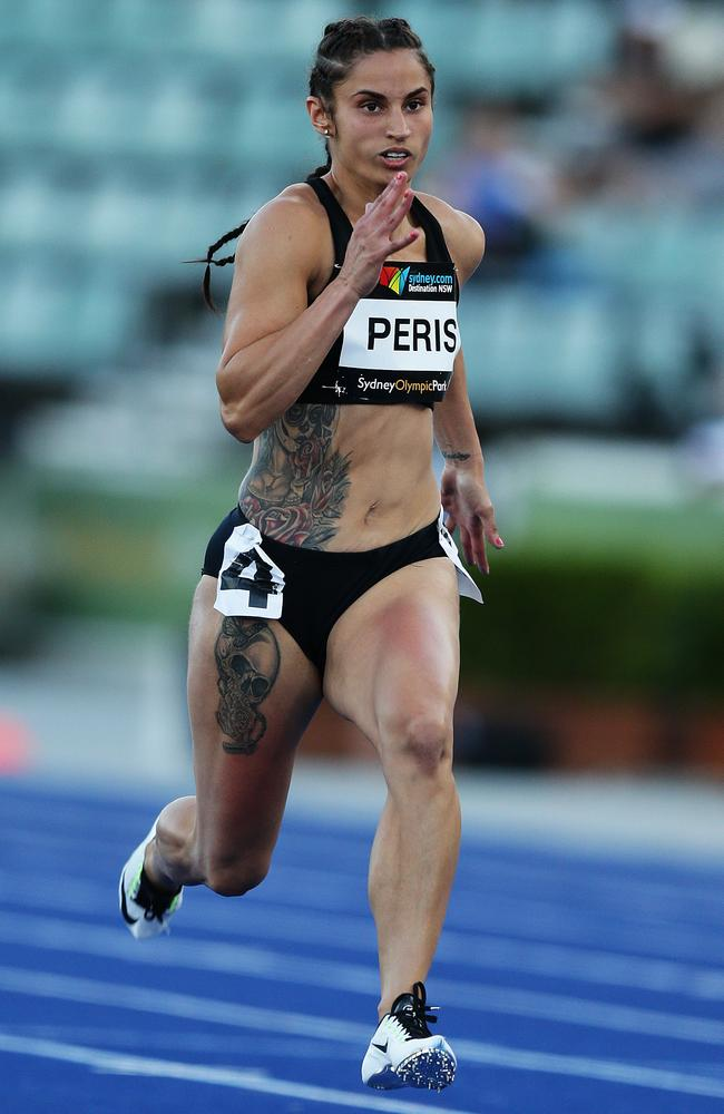 ASADA said today that three banned metabolites were found in Peris's system. Picture: Brett Costello
