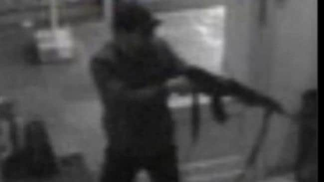 Horrific ... police have released footage of the suspected gunman who shot dead four people at a Jewish museum. Picture: Federal Police of Belgium