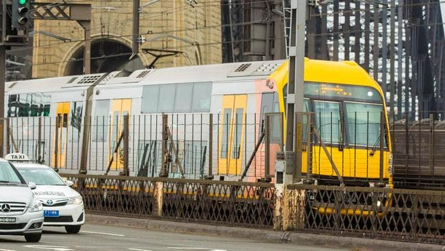 City Rail's train network is so interconnected that one signal failure, or delay, can result in widespread service disruption. As we've seen recently. Picture: AAP Image/Glen Campbell