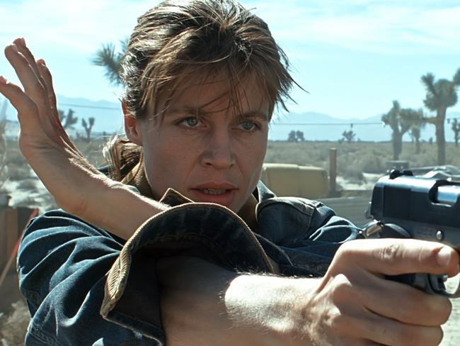 Linda Hamilton told director James Cameron she'd only come back as Sarah Connor if she got to be crazy.