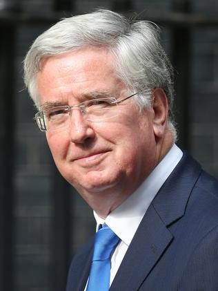 More sanctions ahead ... UK Defence Secretary Michael Fallon. Pictured: Peter Macdiarmid