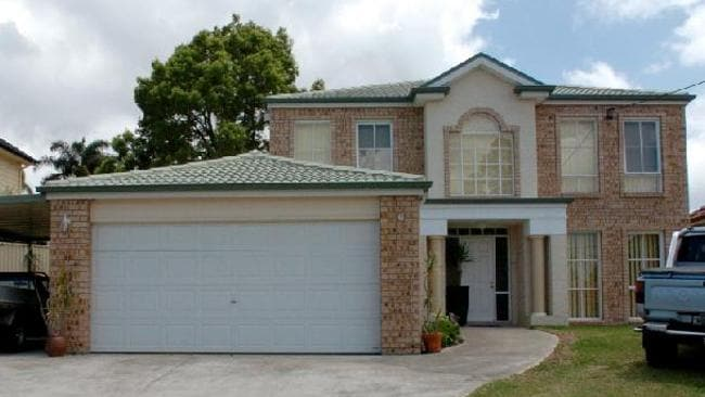The Sef Gonzales house. Picture: News Limited