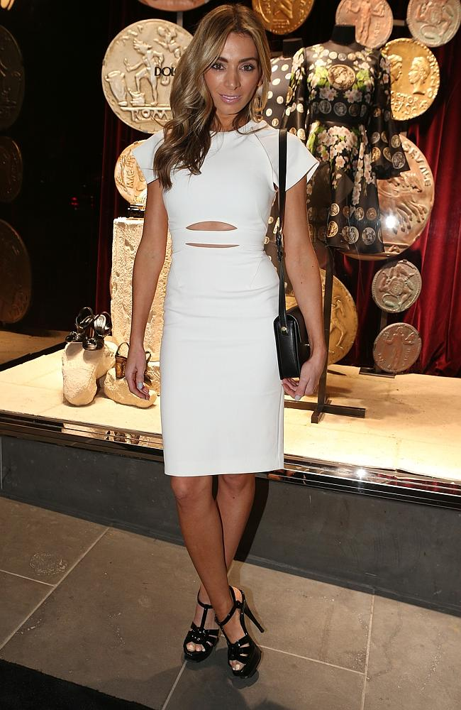 Dolce and Gabbana store opening. Nadia Bartell. Picture: Julie Kiriacoudis